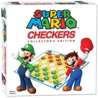 Super Mario Brothers Checkers Tic Tac Toe - multi