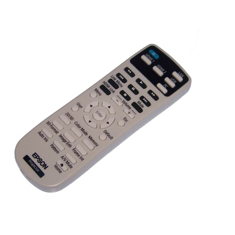 OEM Epson Remote Control Supplied With Home Cinema 2150, Home Cinema 2100