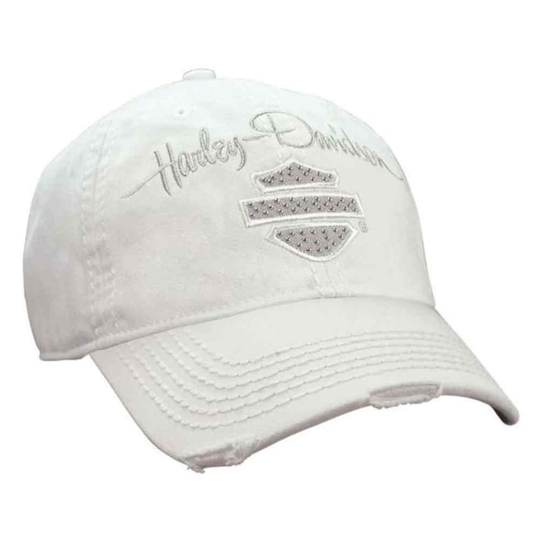 Shop Harley-Davidson Women s Studded Blank Bar   Shield Baseball Cap ... 268b83358506