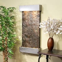 Adagio Whispering Creek Fountain with Stainless Steel Finish - Multiple Colors Available