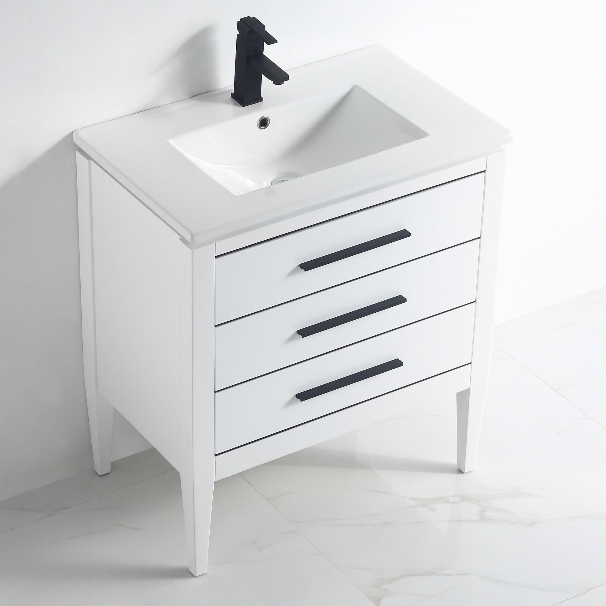 Ayer 30 Inch Single Bathroom Vanity Set Overstock 32517442