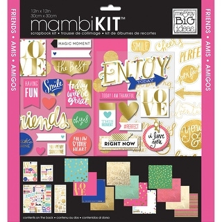 "Me & My Big Ideas Page Kit 12""X12""-Friends"
