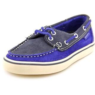 Superga Suej Moc Toe Suede Boat Shoe