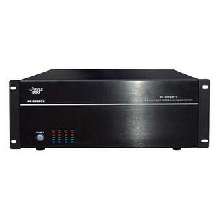 PyleHome 19 in. Rack Mount 8000 Watt 8 Channel Stereo-Mono Amplifier