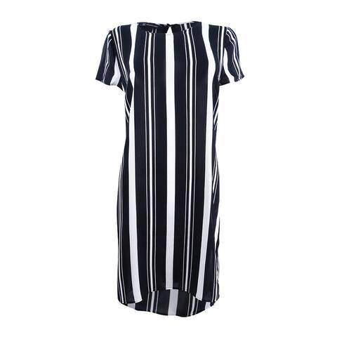 INC International Concepts Women's Striped High-Low Tunic (M, Infinity Stripe) - Infinity Stripe - M