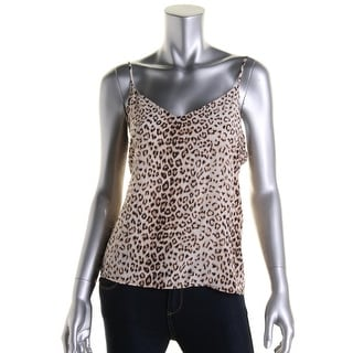 Equipment Femme Womens Silk Animal Print Cami - S