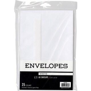 """Leader A9 Envelopes (5.75""""X8.75"""") 25/Pkg-White"""
