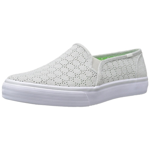 Keds Womens Double Decker Low Top Slip On Fashion Sneakers