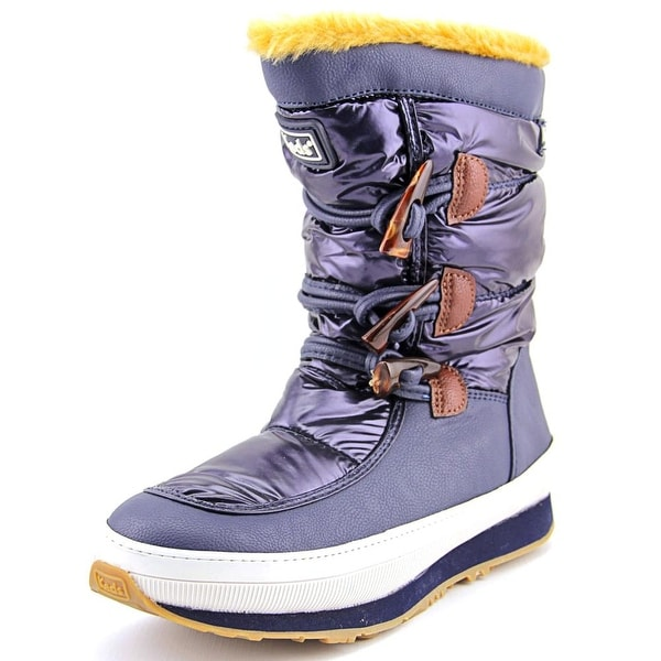 Keds Powder Puff Women Round Toe Synthetic Blue Winter Boot