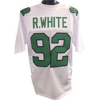 Reggie White unsigned White TB Custom Stitched Pro Style Football Jersey XL