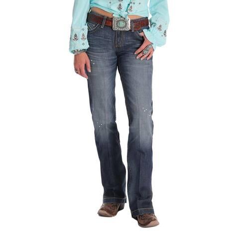 Cruel Girl Western Denim Jeans Womens Jayley Mid Trouser