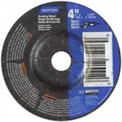 "Norton 66252842014 Aluminum Oxide Metal Wheel, 4"""