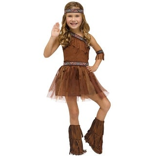 Fun World Give Thanks Toddler Costume - Brown