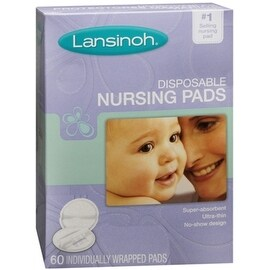 Lansinoh Nursing Pads Disposable 60 Each (4 options available)