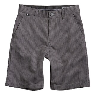 Fox 2015 Kid's Essex Short - Pinstripe - 01957 - Charcoal Heather (More options available)