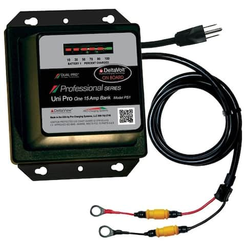 Dual Pro Professional Series Battery Charger - 15A Battery Charger