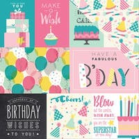 "Birthday Girl Double-Sided Cardstock 12""X12""-Journaling Cards"