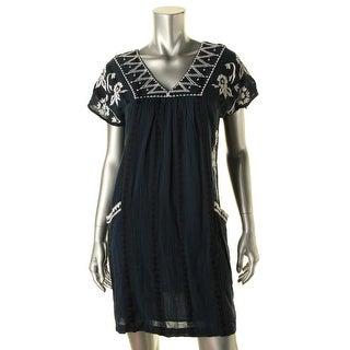 Tiana B Women S Ivory Embroidered Lace Dress 15266202
