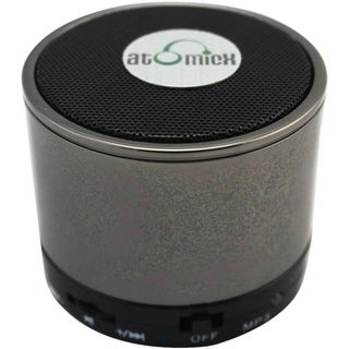 AtomicX  SP-S10CM Speaker System - Wireless Speaker(s) - Chrome - 30 ft - Bluetooth