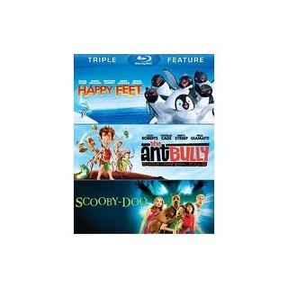 HAPPY FEET/ANT BULLY/SCOOBY-DOO-MOVIE (BLU-RAY/TFE/3 DISC)