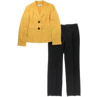 Le Suit Womens Monte Carlo Crepe 2PC Pant Suit