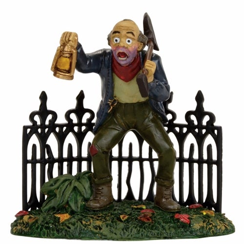Department 56 Village Halloween Scary Gravedigger Accessory Figurine