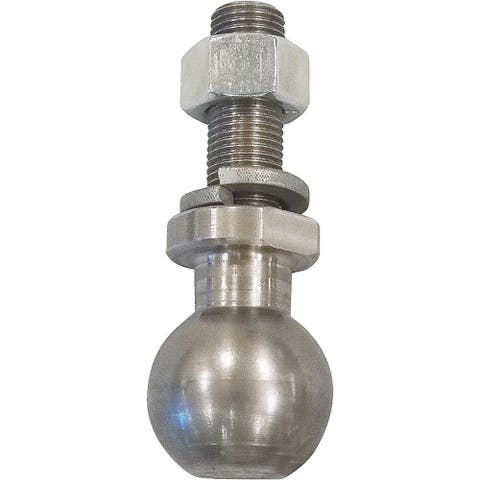 Precision KH100BS Kwik Hitch Ball Stud, Tow Up To 1500 Lbs