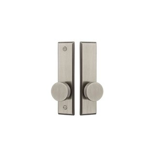 Baldwin K011.MR Traditional Pair of Knobs for use with Screen Door Mortise Locks