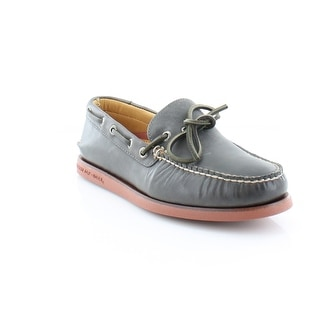 Sperry Top-Sider Gold Cup A/O 1-Eye Wedge Men's Casual Grey/Brk
