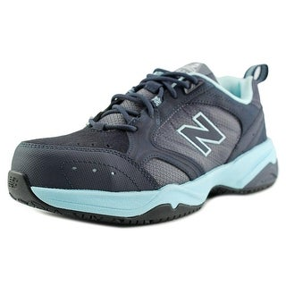 New Balance WID627 Women Round Toe Synthetic Black Sneakers