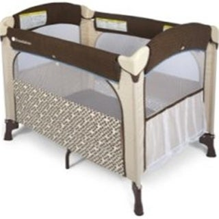 Foundations 1554127 Elite Portable Crib Mattress - Brown