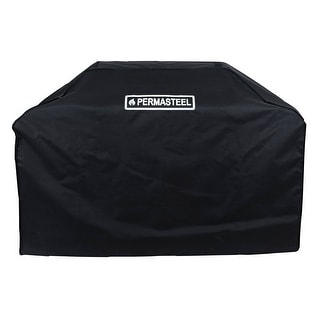 "Link to Permasteel 72"" Black Gas grill Cover Similar Items in Patio Furniture"