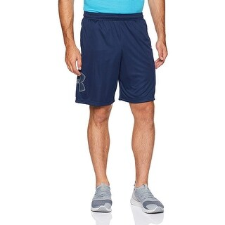 Under Armour Men's Techgraphic Shorts, Academy (409)/Steel, X-Large