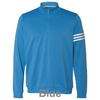 adidas - ClimaLite® Three-Stripe French Terry Pullover