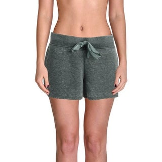 Roudelain Womens Sleep Short French Terry Drawstring