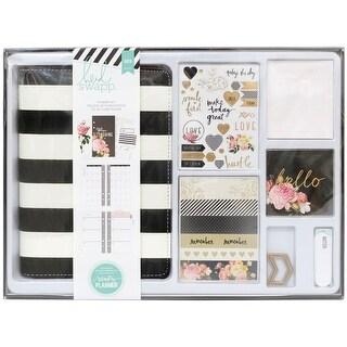 Heidi Swapp Memory Planner Kit-Black & White With Gold