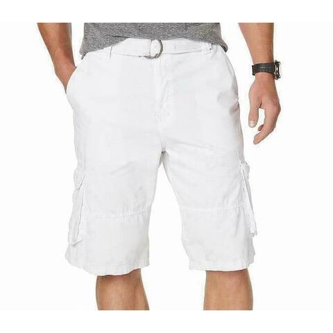 American Rag Mens Shorts Bright Relaxed Multi-Pocket Cargo