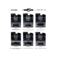 Black Bandit Series 16, 6pc set 1/64 Diecast Model Cars by Greenlight