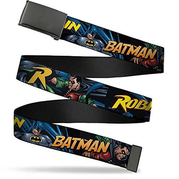 "Buckle-Down Web Belt Batman Robin 1.25"""