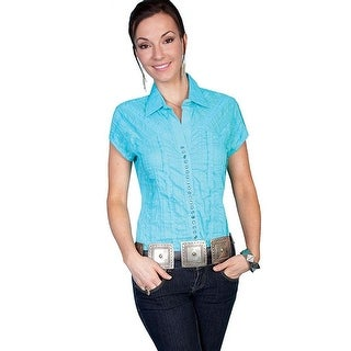 Scully Western Shirt Womens Honey Creek S/S Stripe Snap PSL-012S