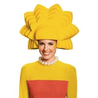 Disguise Lisa Foam Wig - Yellow