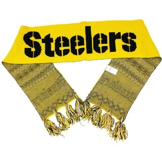 Pittsburgh Steelers NFL Football Knit Scarf