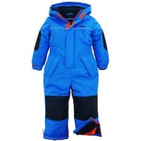 iXtreme Baby Boys Snowmobile Hooded Fleece Lined Winter Solid Snowsuit Jacket