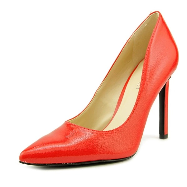 Nine West Tatiana Women Pointed Toe Synthetic Red Heels