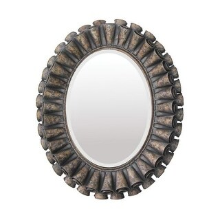 """Sterling Industries 55-0027M 33"""" Height Oval Mirror"""