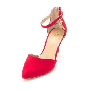 Thalia Sodi Womens Vanesssa Pointed Toe Ankle Strap Classic Pumps