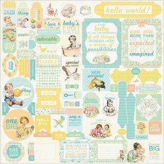"""Beginnings Cardstock Stickers 12""""X12""""-Details"""