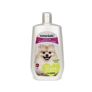 Nourish NOUR-180 16-Ounce Pet Dog Shampoo/Conditioner Apple