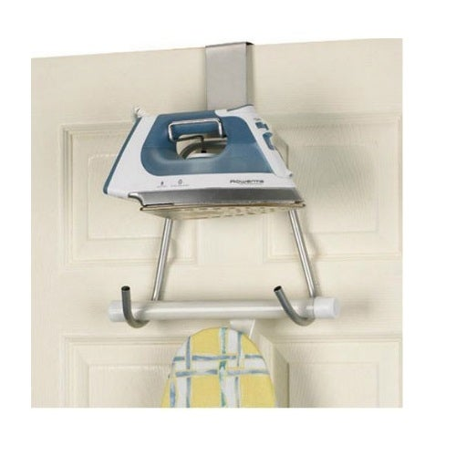 "Household Essentials 174 Ironing Board Holder, 15.5""H x 11""W x 4.5""D"
