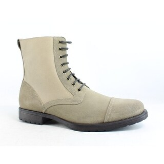 Rush by Gordon Rush Mens Taupe Ankle Boots Size 11